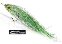 AF-720104 Flash Geddeflue, Pearl/Silver/Holo Green #5/0