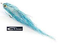 AF-720105 Flash Geddeflue, Pearl/Silver/Holo Blue #5/0