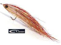 AF-720106 Flash Geddeflue, Copper/Pearl/Holo Gold #5/0